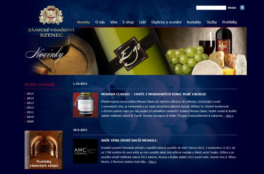 Zámecké vinařství Bzenec